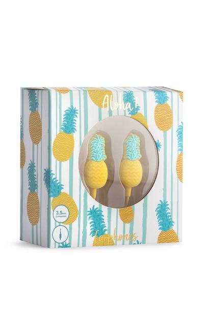 Pineapple Earphones