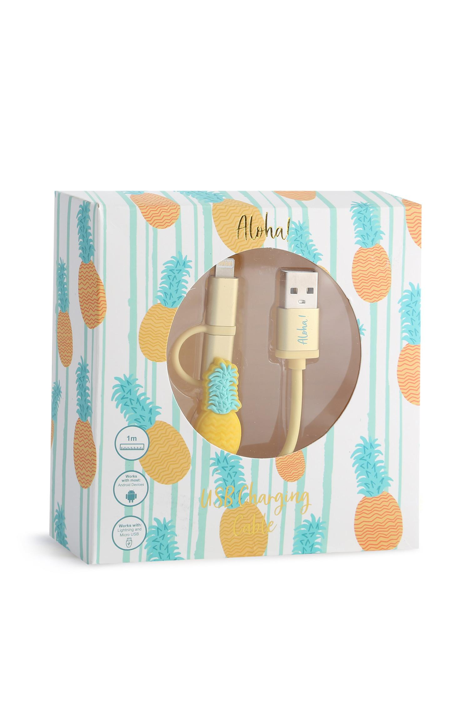 Pineapple Charging Cable