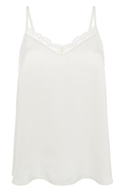 Ivory Pyjama Cami