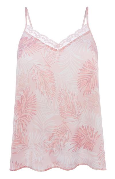 Pink Pyjama Cami