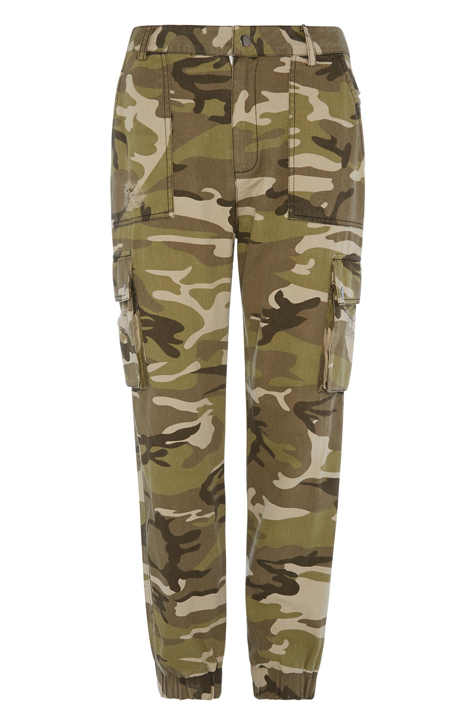 Camo Cargo Trouser