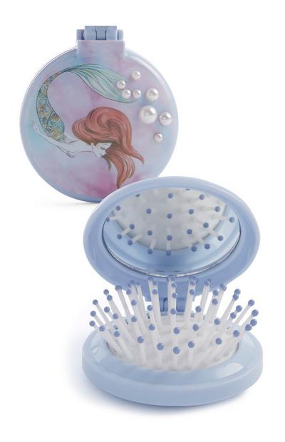 Little Mermaid Compact Brush