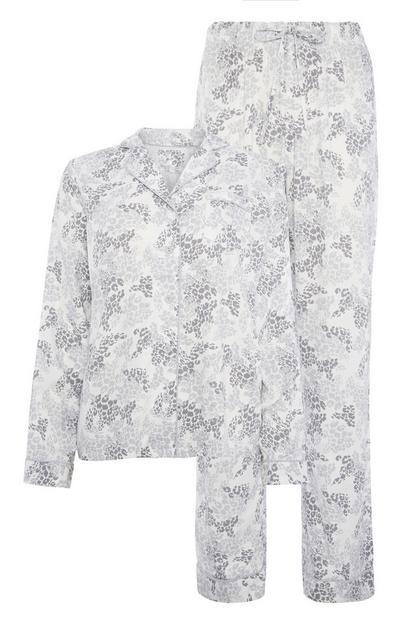 Grey Pyjama Top