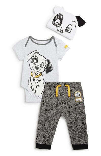 101 Dalmatians 3Pc Outfit Set