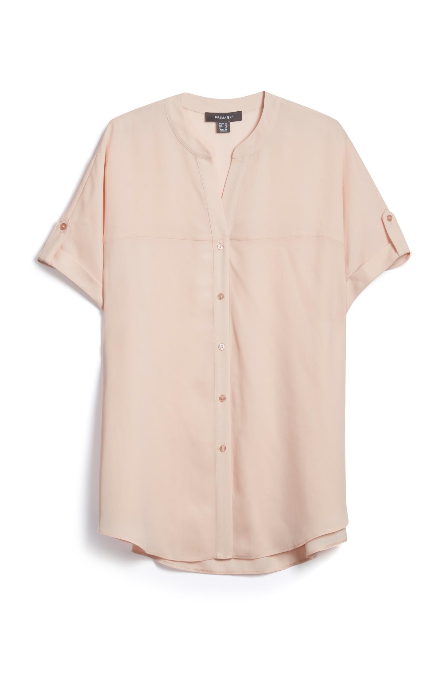 Pink Short Sleeved T Shirt