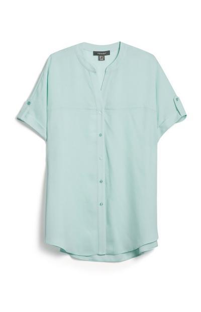 Blue Short Sleeved T Shirt