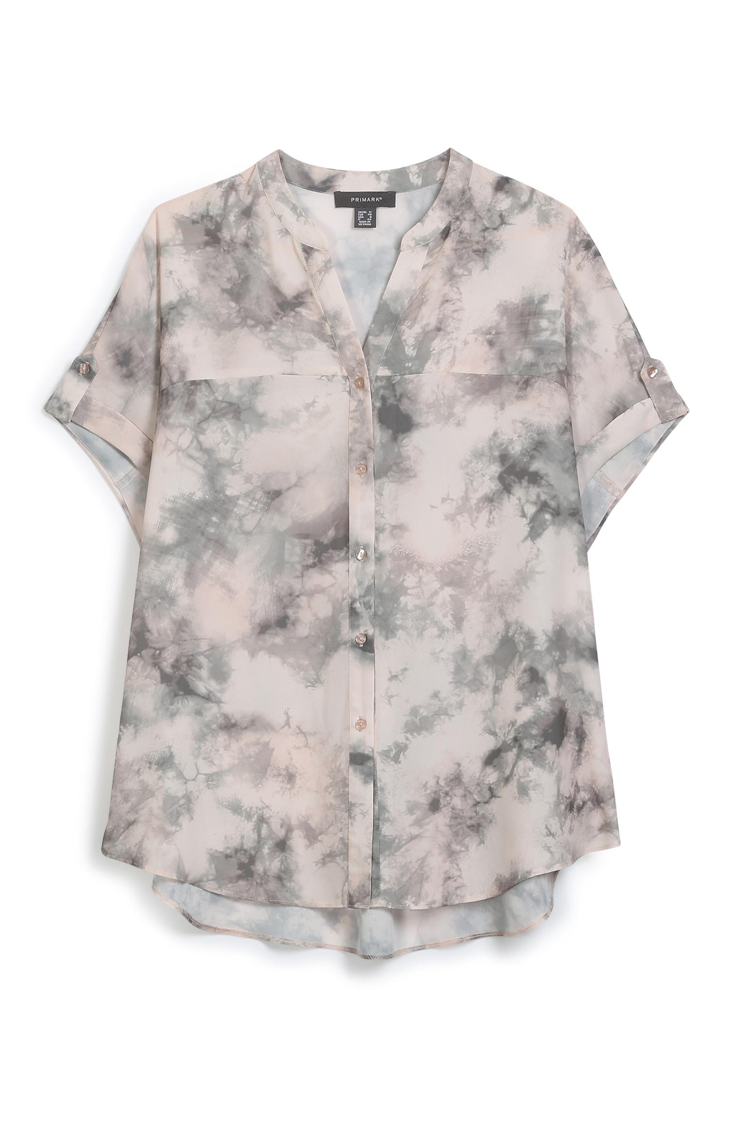 Marble Short Sleeve Shirt