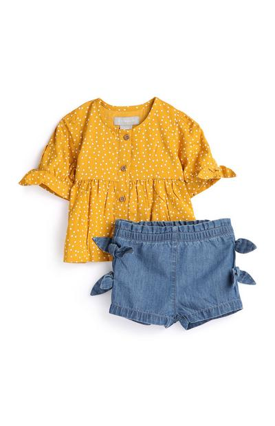 Outfit für Babys (M), 2-teilig