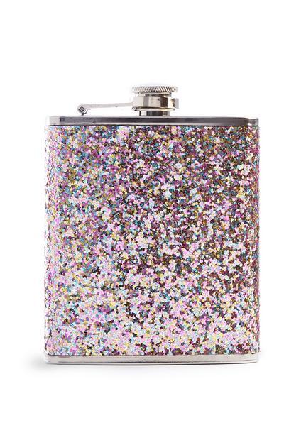 Glitter Hip Flask