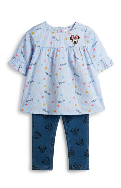 Baby Girl Minnie Mouse Outfit 2Pc