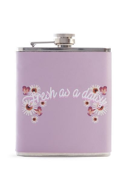 Purple Hip Flask