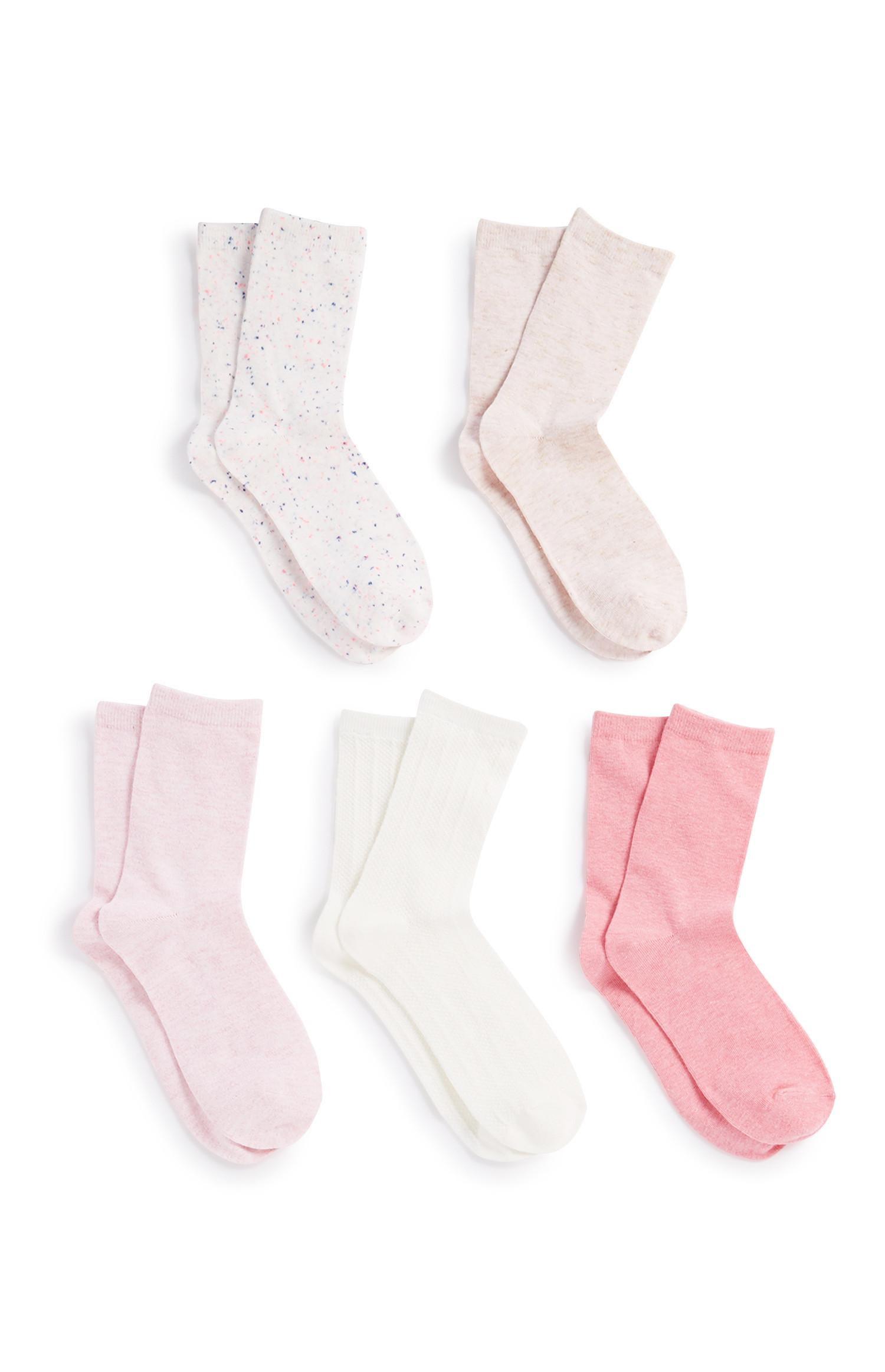 Long Socks 5Pk