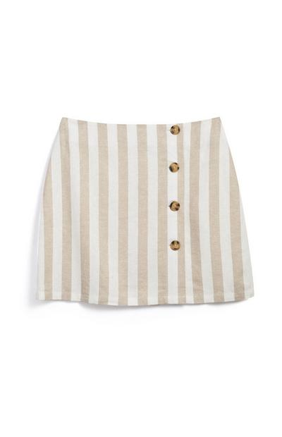 Stripe Line Skirt