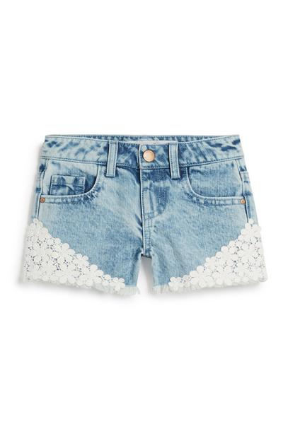 Younger Girl Denim Short