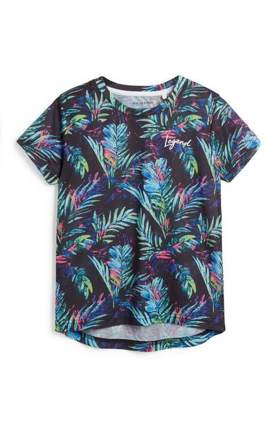 Younger Boy Tropical T-Shirt