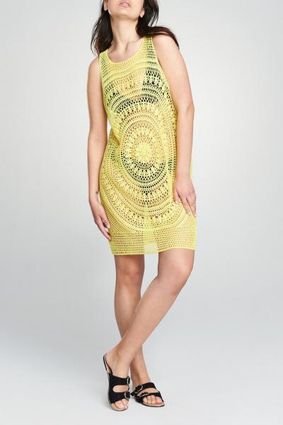 Lemon Knitted Dress
