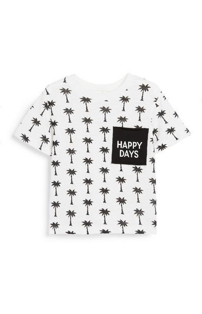 Baby Boy Palm Print T-Shirt