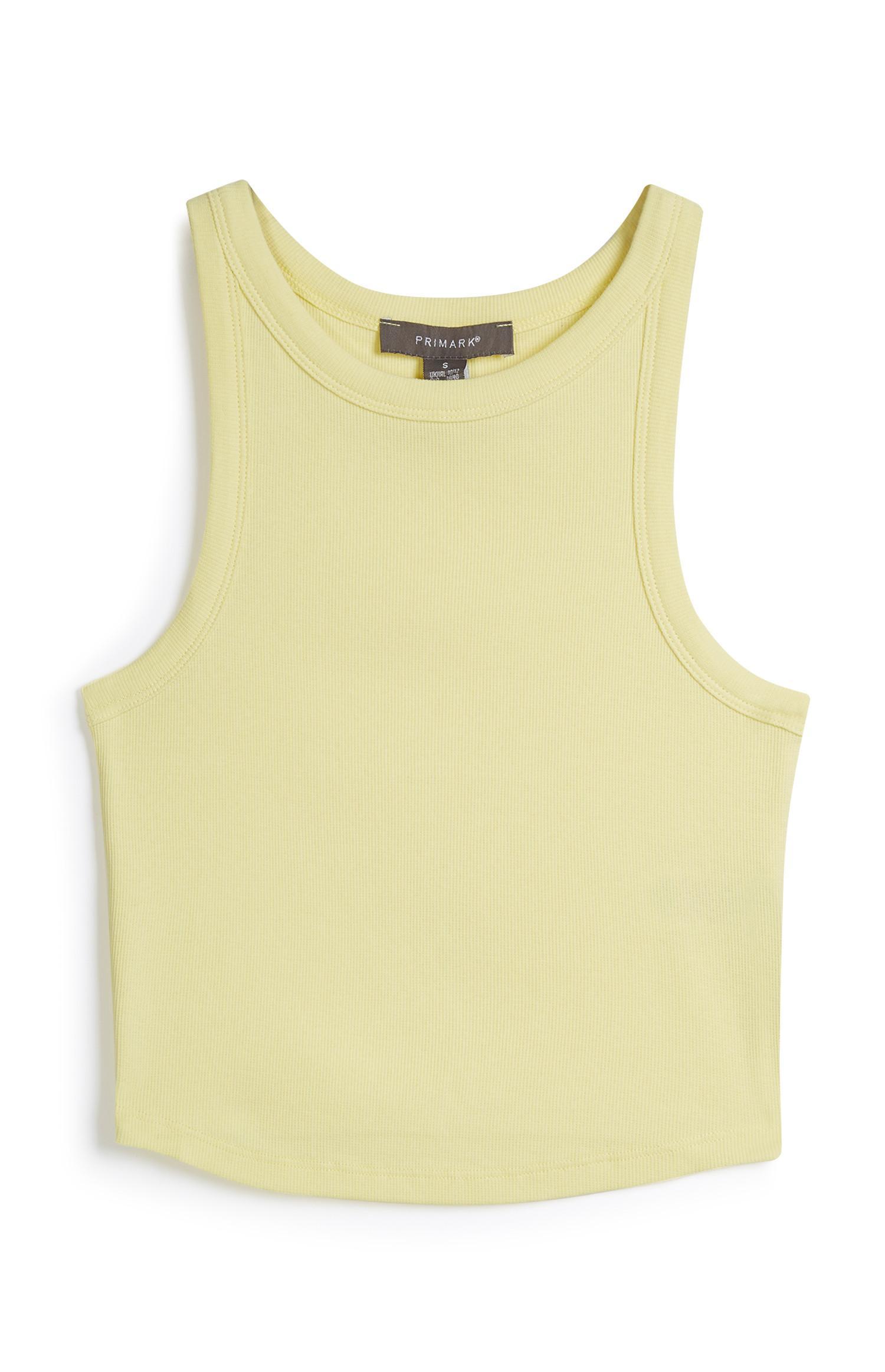 Yellow Racer Rib Vest