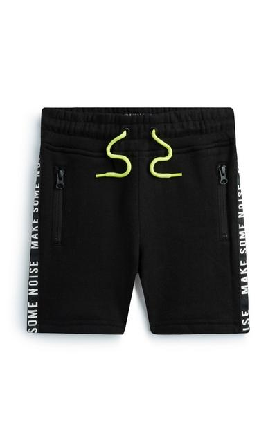 Younger Boy Black Short