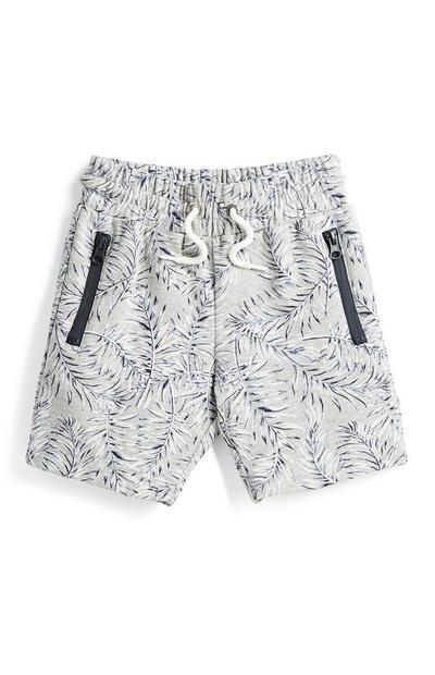 Younger Boy Leaf Shorts
