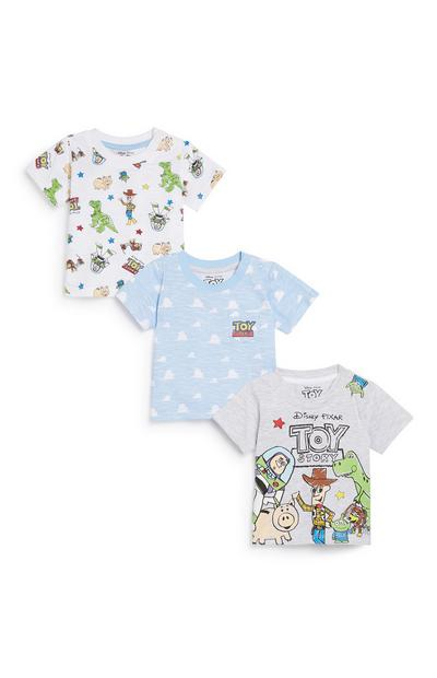 Baby Boy Toy Story T-Shirt 3Pk