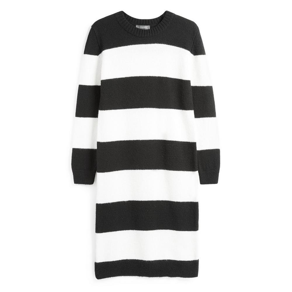 34faa3821d64 Vestido riscas preto e branco | Camisolas | Camisolas | Mulher | Categorias  | Primark Portugal