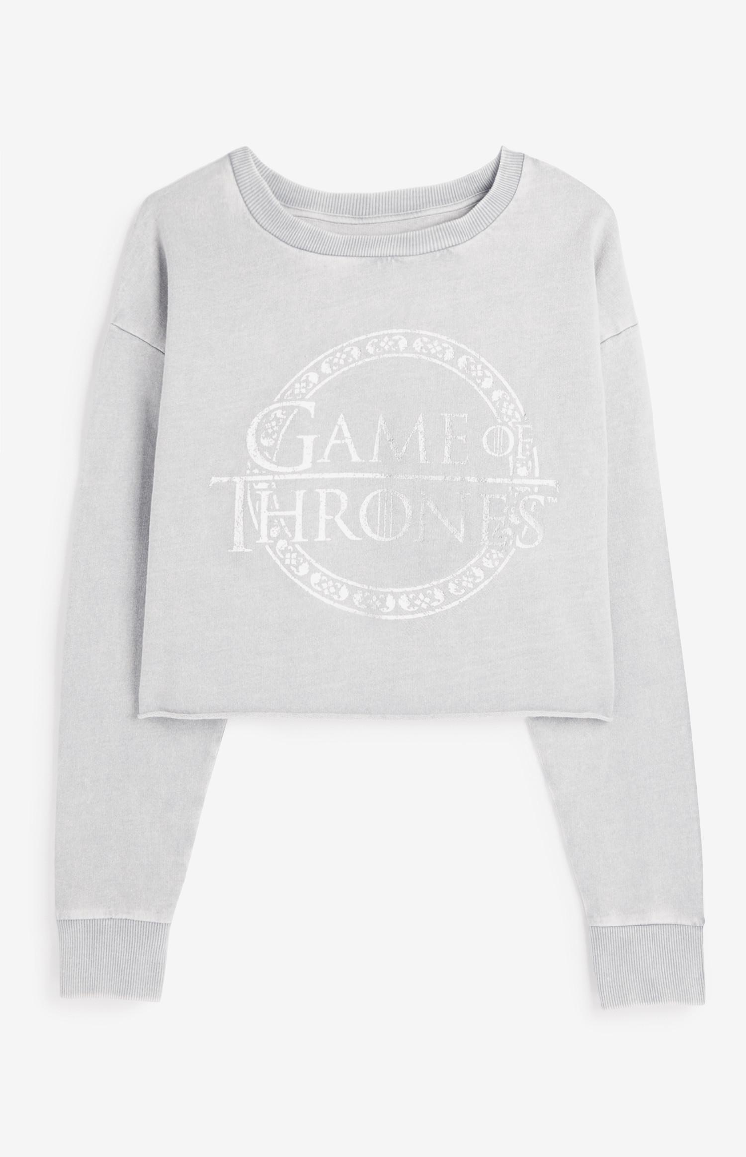 Game Of Thrones Crop Sweatshirt