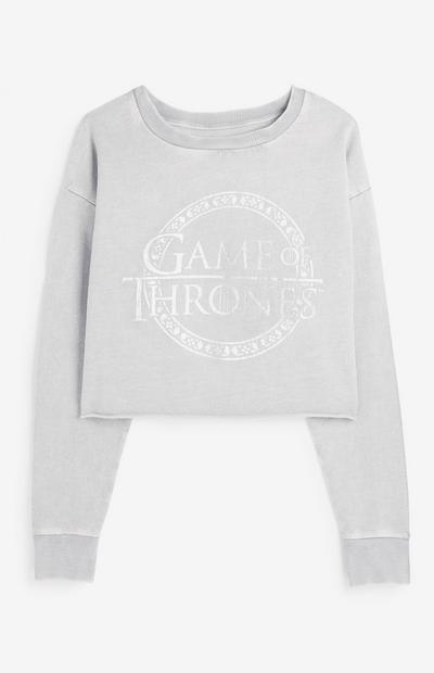 Game Of Thrones Crop Sweatshirt