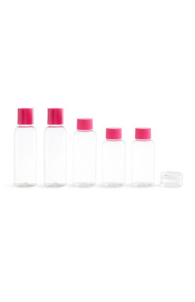 Pink Travel Bottle 5Pk