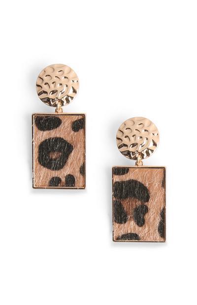 Leopard Print Earring