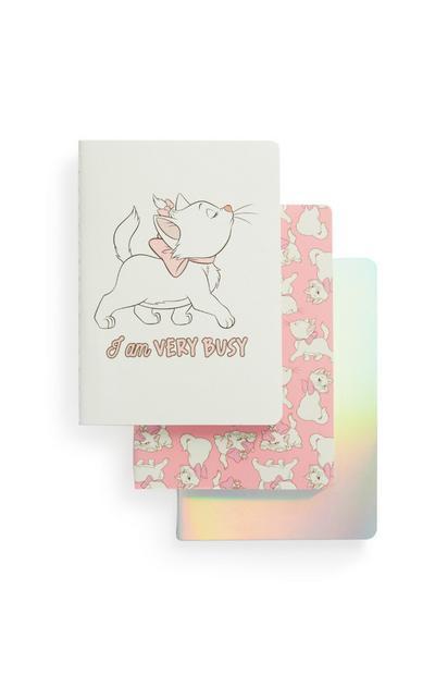 """""""Aristocats"""" A6-Notizbücher, 3er-Pack"""