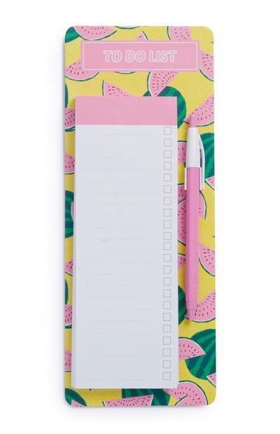 Tropical Pattern Shopping List