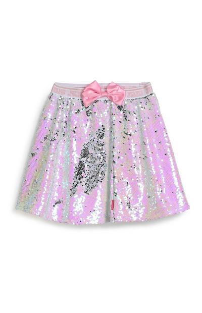 Older Girl Jojo Siwa Sequin Skirt