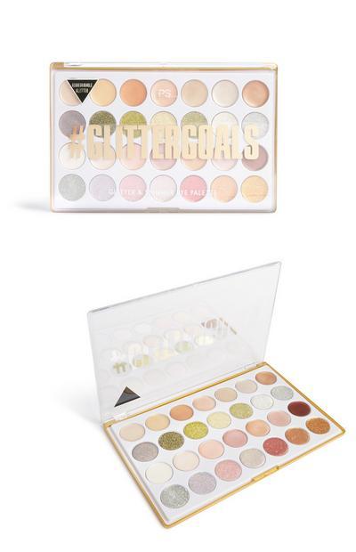Bio Glitter And-Shimmer Eye Palette