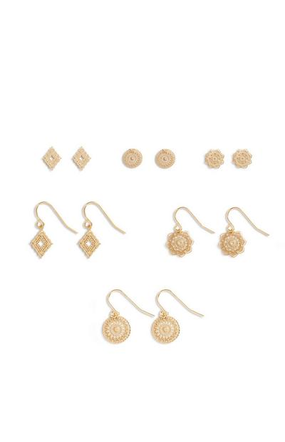 Mix Earrings 6Pk