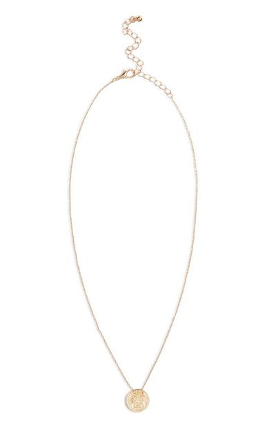 Star Sign Necklace Leo