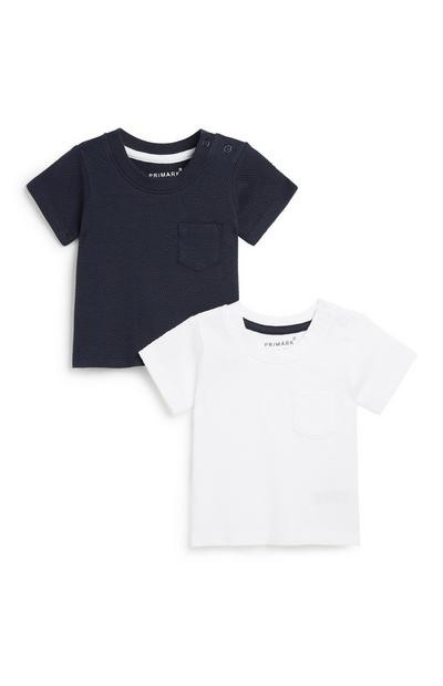 Baby Boy T-Shirt 2Pk