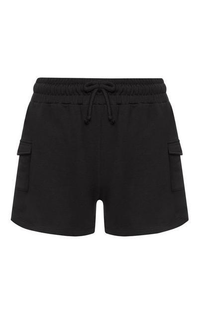 Black Utility Short