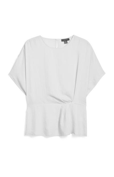 White Twist T Shirt