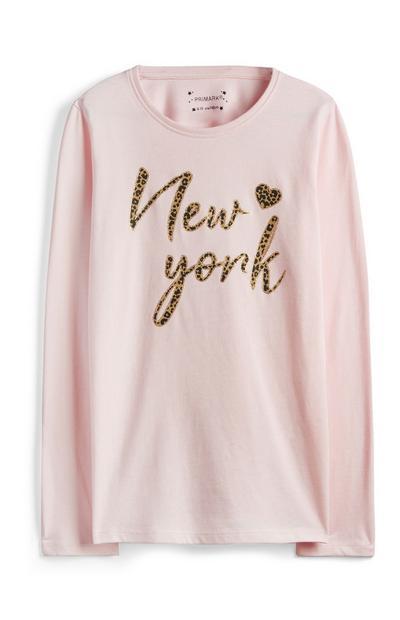Older Girl New York Top