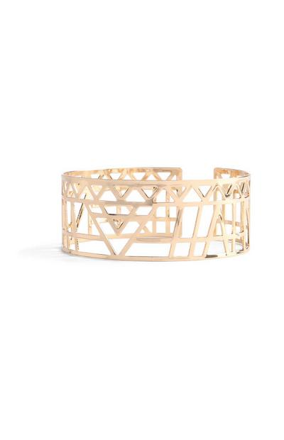 Detailed Cut Out Bangle