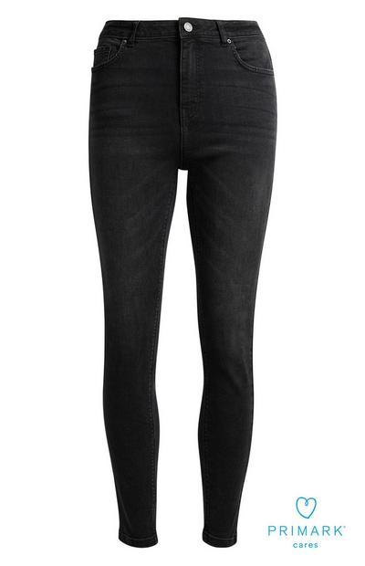 Sustainable Cotton Black Skinny Jean