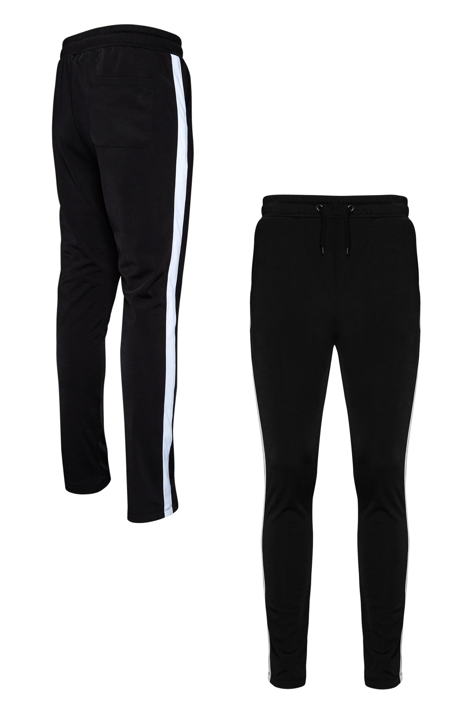 Black Side Stripe Trouser