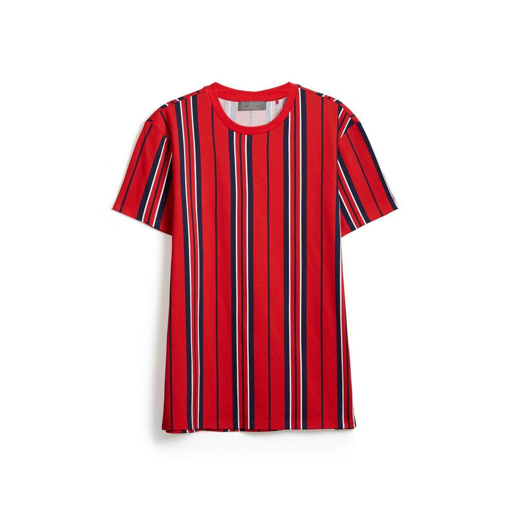 Hombre A RojasCamisetas Y Camiseta Rayas Tops Las c1FJuKl3T