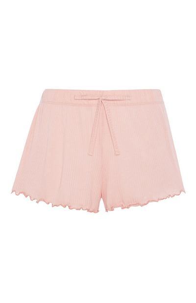 Pink Jersey Short