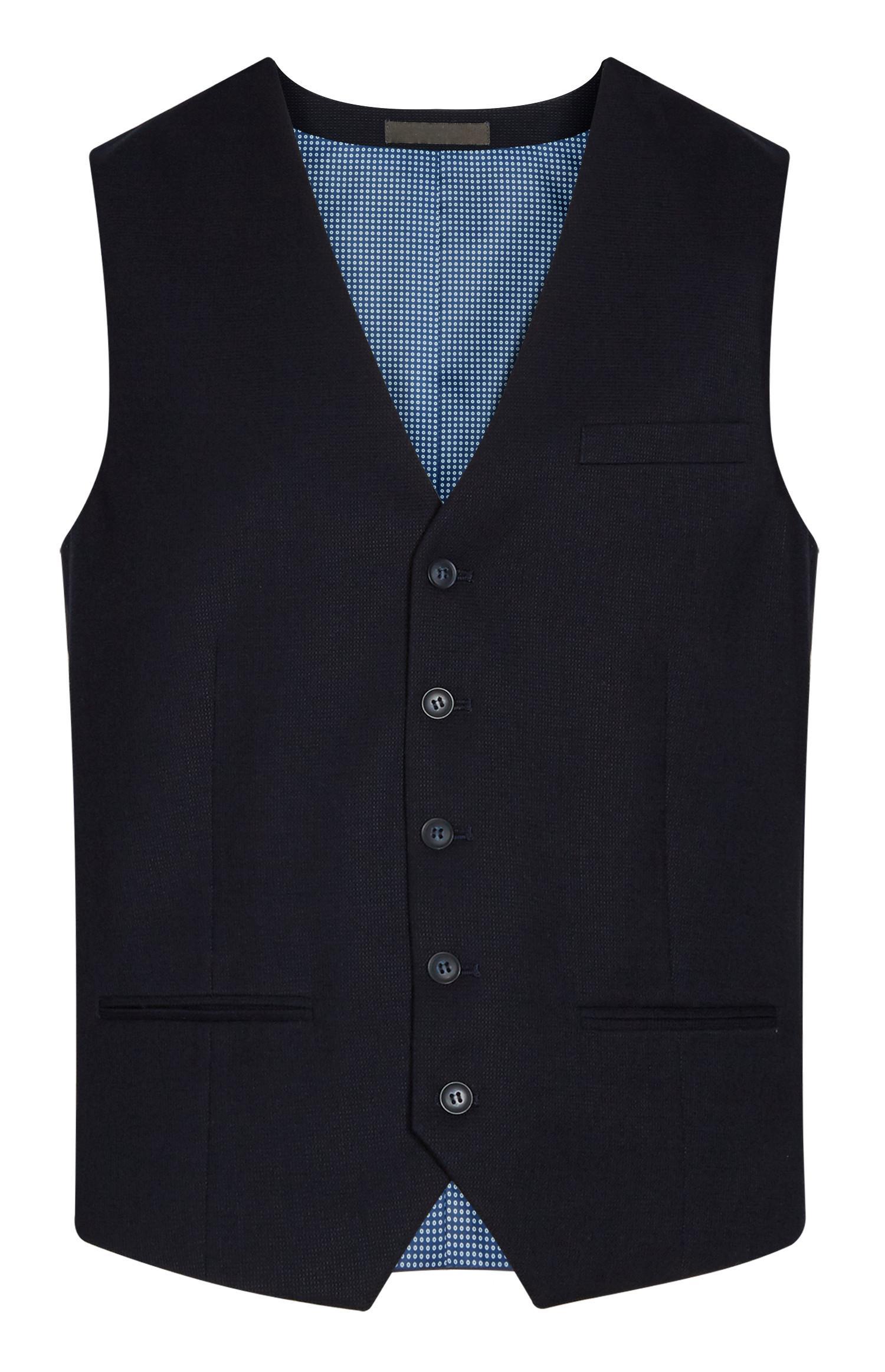 Navy Wasitcoat