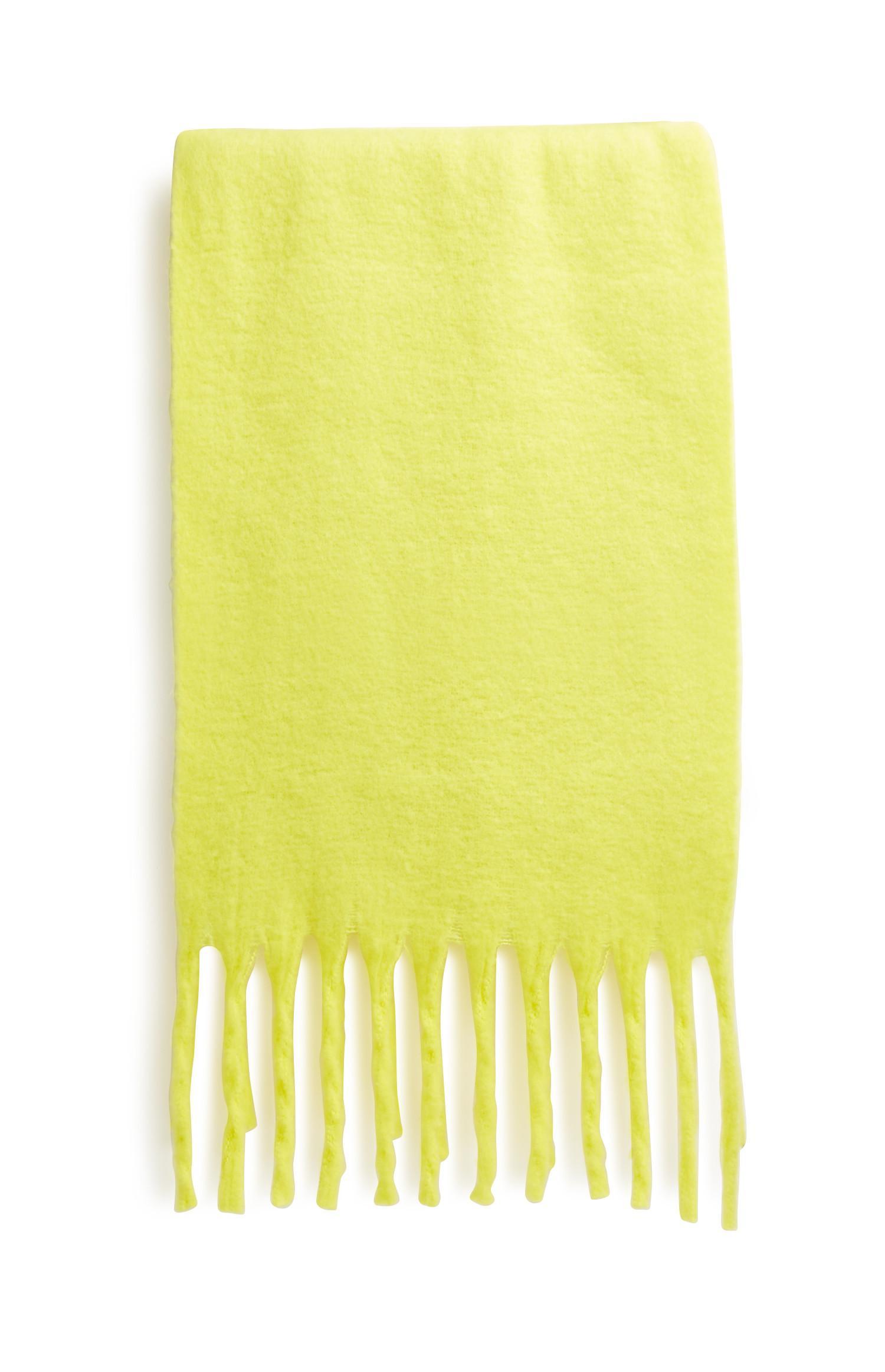Neon Yellow Scarf