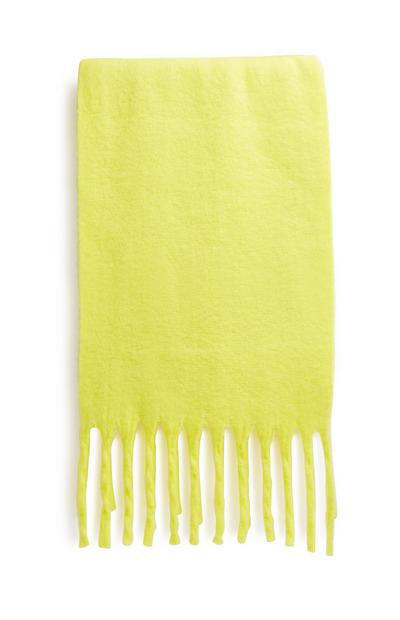 Neon Yellow Scarf