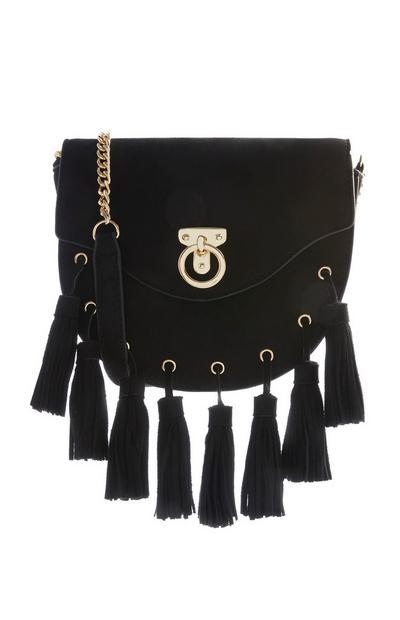 Black Tassel Bag