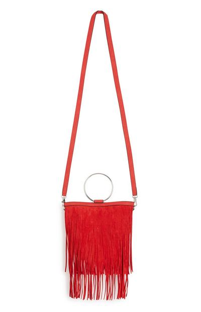 Red Tassle Bag